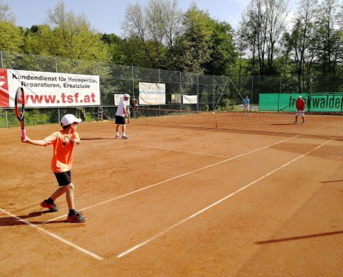 Ganz Österreich spielt Tennis